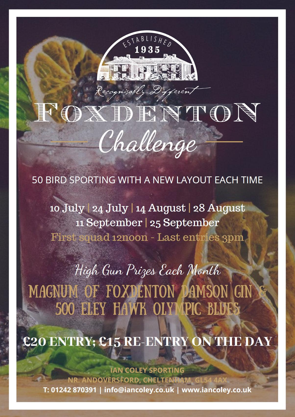 Foxdenton Challenge