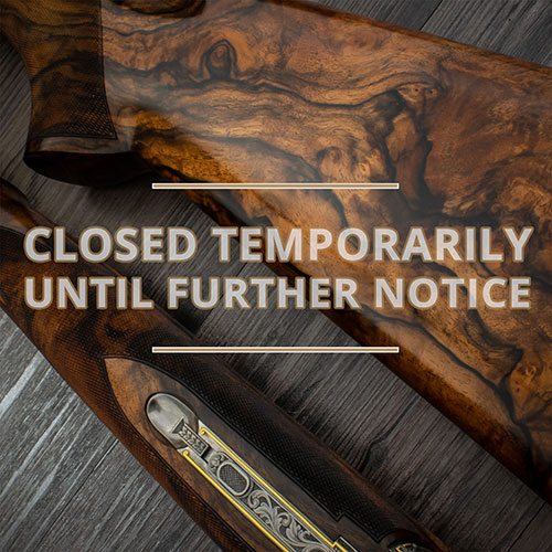 Closed Temporarily Until Further Notice